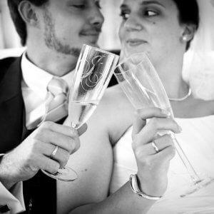 Champagne - Inspiration til bryllupsfoto