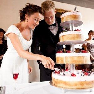 Bryllupskage - Bryllupsfotograf