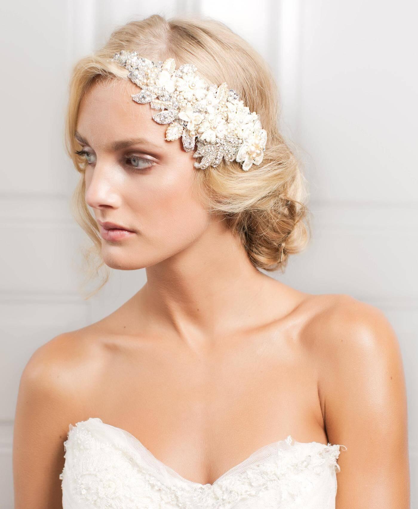 Headpiece til brylluppet