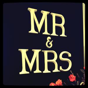 Mr & Mrs i London