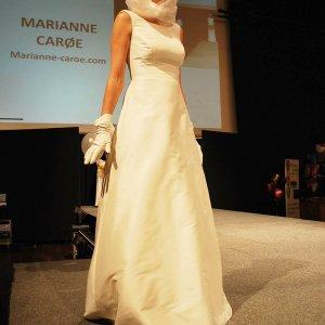 Brudekjole fra Marianne Carøe
