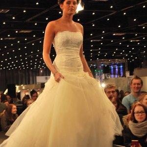 Brudekjole fra Gudnitz Couture.