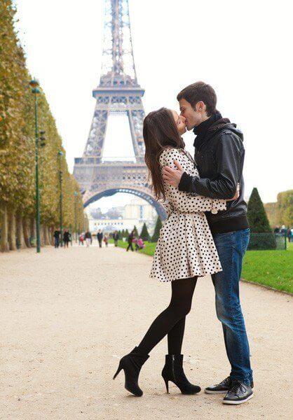 Tag på bryllupsrejse til Paris