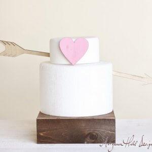 Ti fredagsfavoritter: Bryllupskagefigur fra Morgan Hill Designs på Etsy.com
