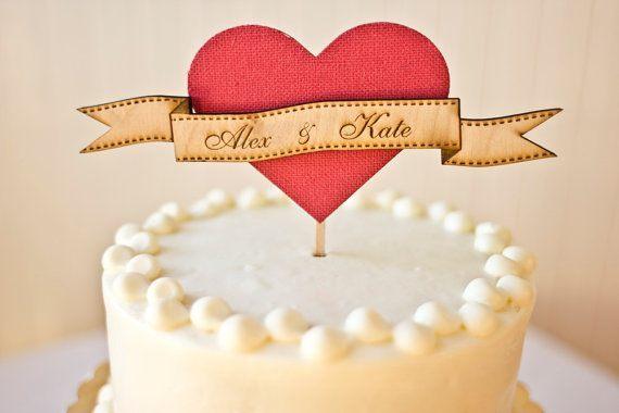 Ti fredagsfavoritter: Bryllupskagefigur fra Better of Wed på Etsy.com