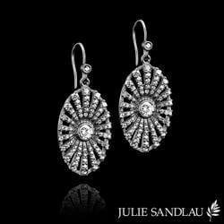 Øreringe til brylluppet fra Julie Sandlau