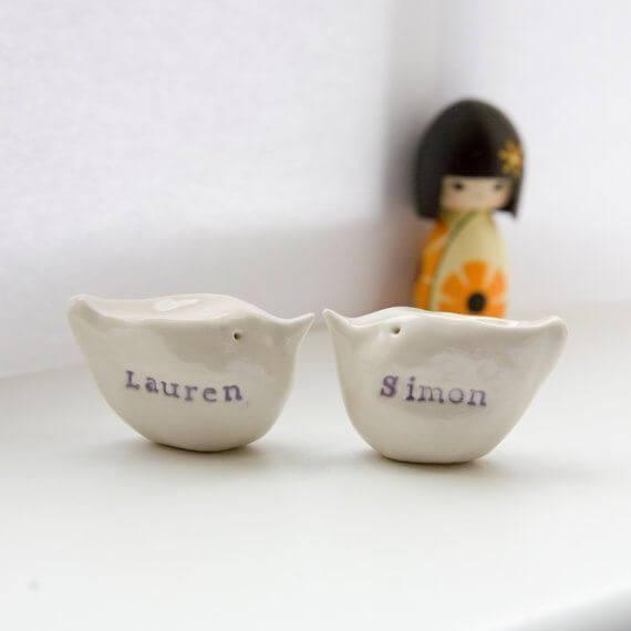 Ti fredagsfavoritter: Bryllupskagefigur fra Diana Parkhouse på Etsy.com