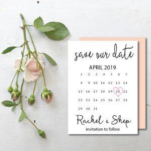 sæt kryds i kalenderen bryllup