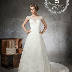 brudekjole fra Justin Alexander