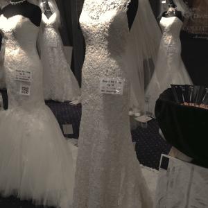 blonde brudekjole fra Bentes Brudekjoler