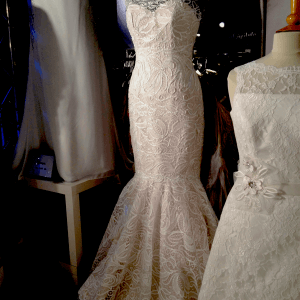 blonde brudekjole fra Bridehouse