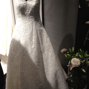 blonde brudekjole fra Karimdesign