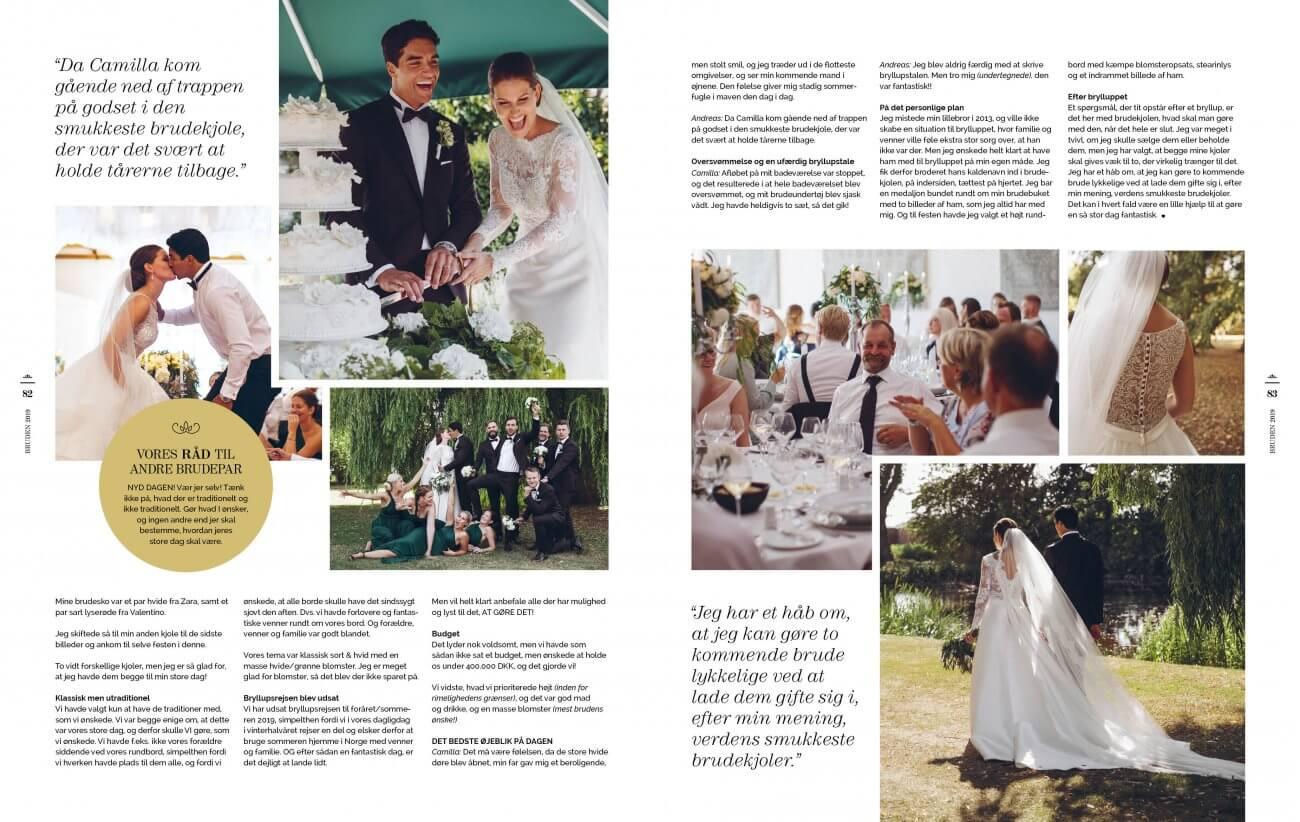 a46b383e9147 BRUDEN   GOMMEN 2018 er et must i din bryllupsplanlægning.