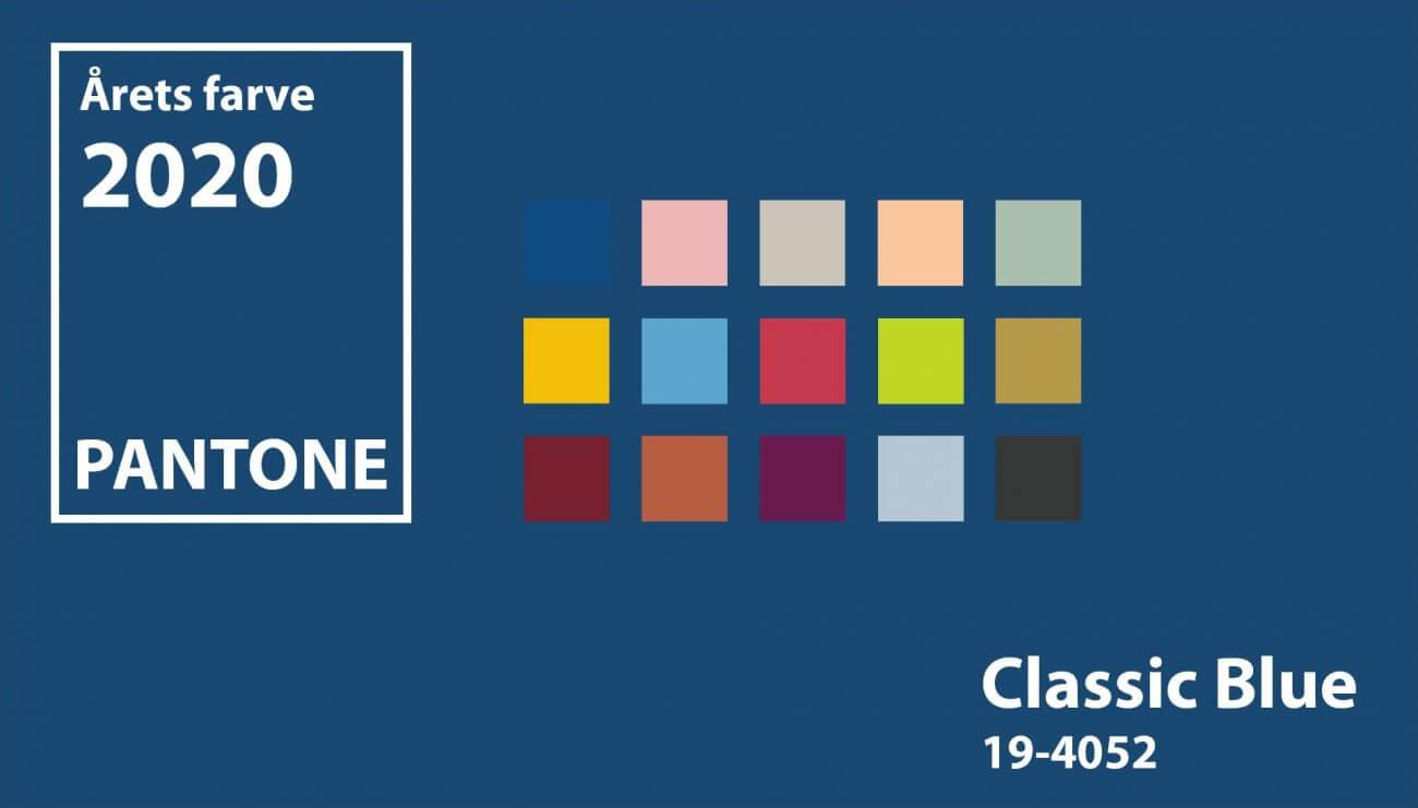 bryllupstrend 2020 pantone classic blue