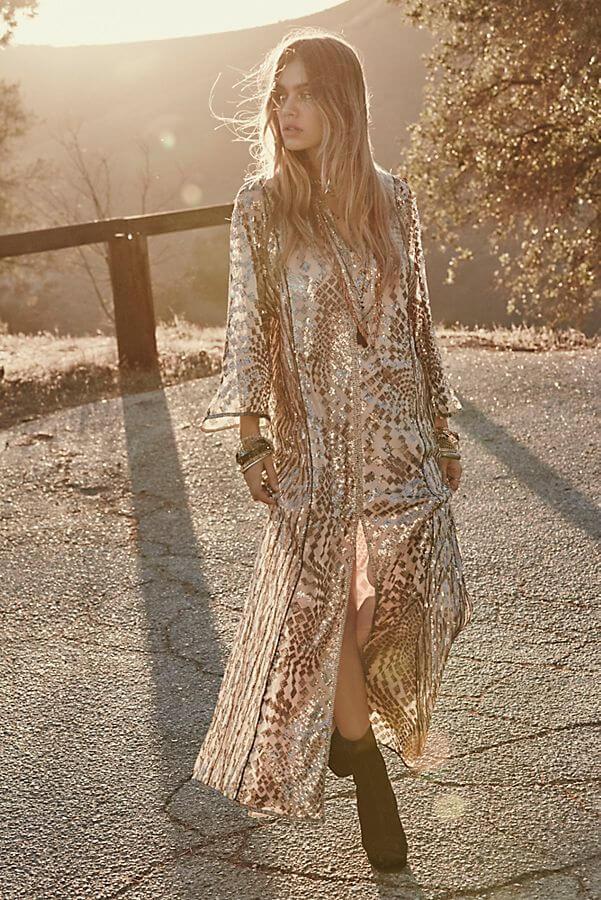 Tøj til bryllupsgæsten maxikjole